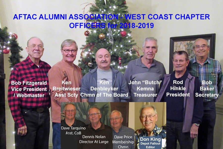 WCC Officers 2018-2019